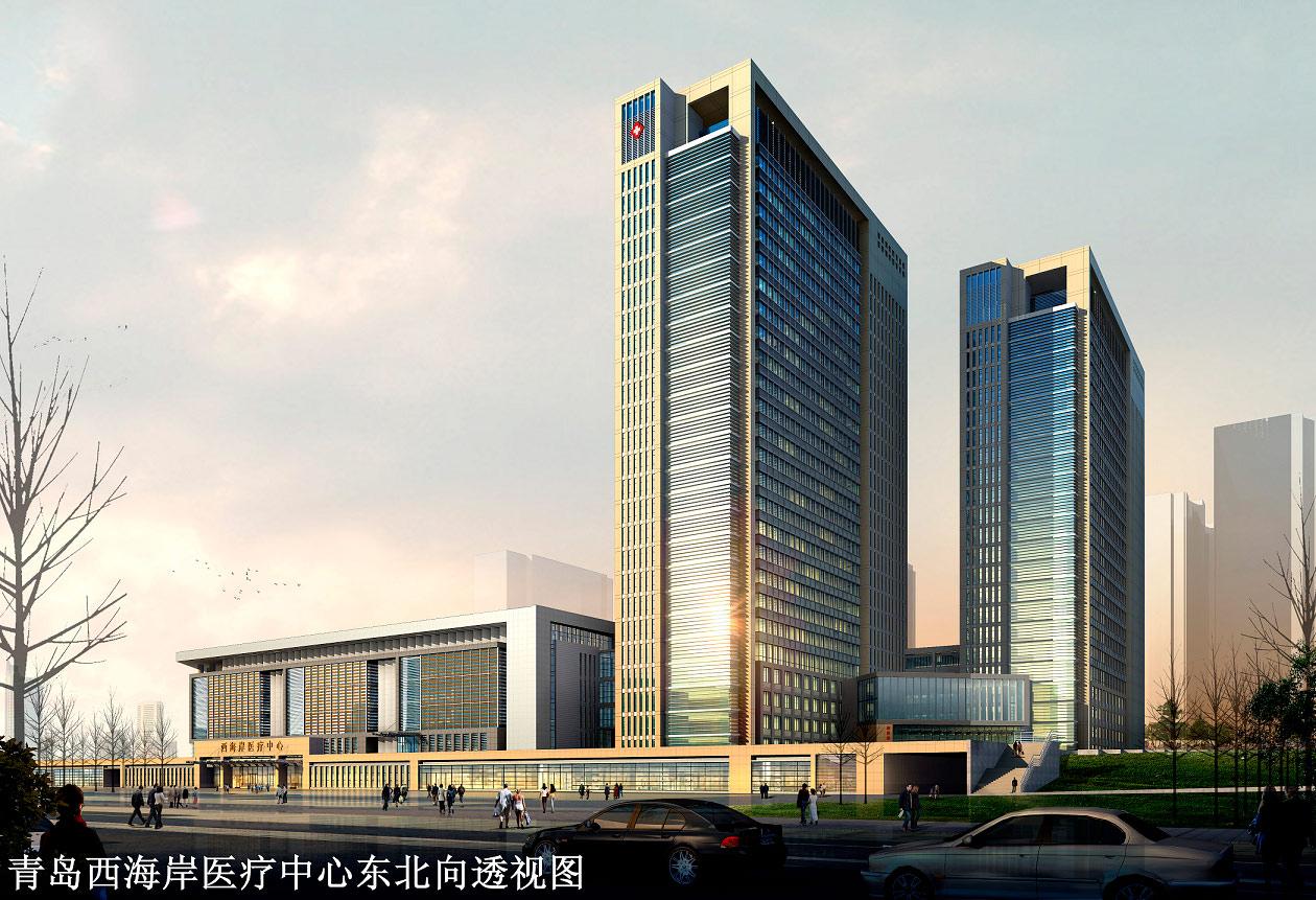 青岛西海岸医疗中心综合楼建筑电气设计简介图片