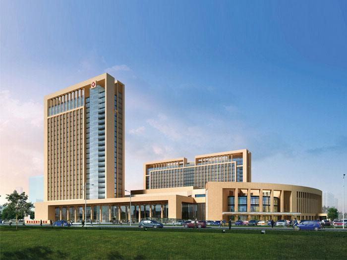 山东省潍坊市青州市弥河镇将军山路潍坊益都中心医院新院