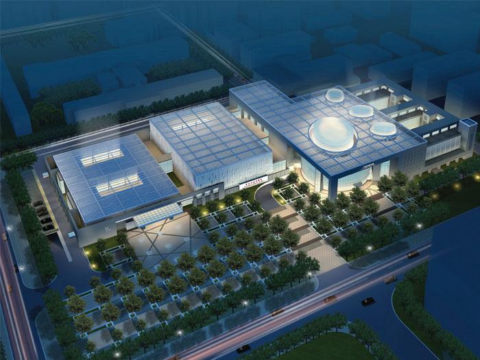 西安市儿童医院门诊医技综合楼,绿色医院设计研究所