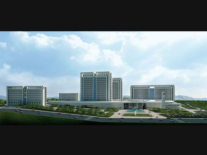 即墨市城区东部医疗中心,绿色医院设计研究所