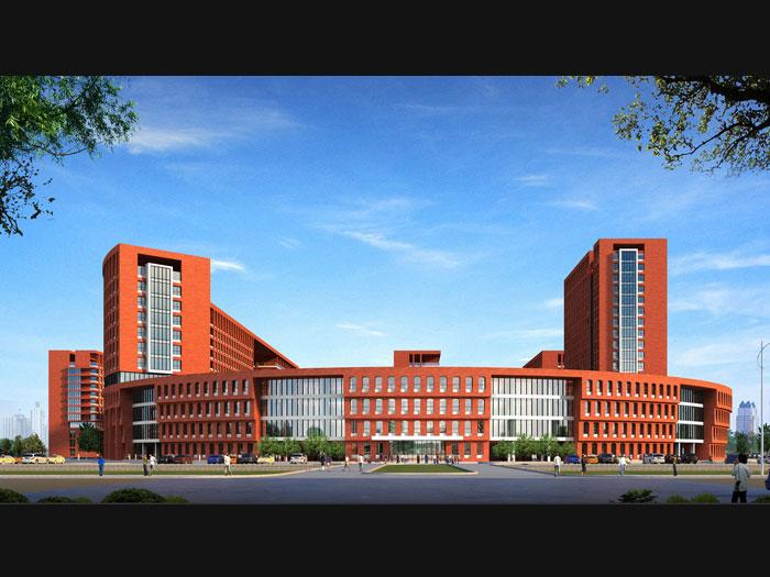 欧式医院建筑设计
