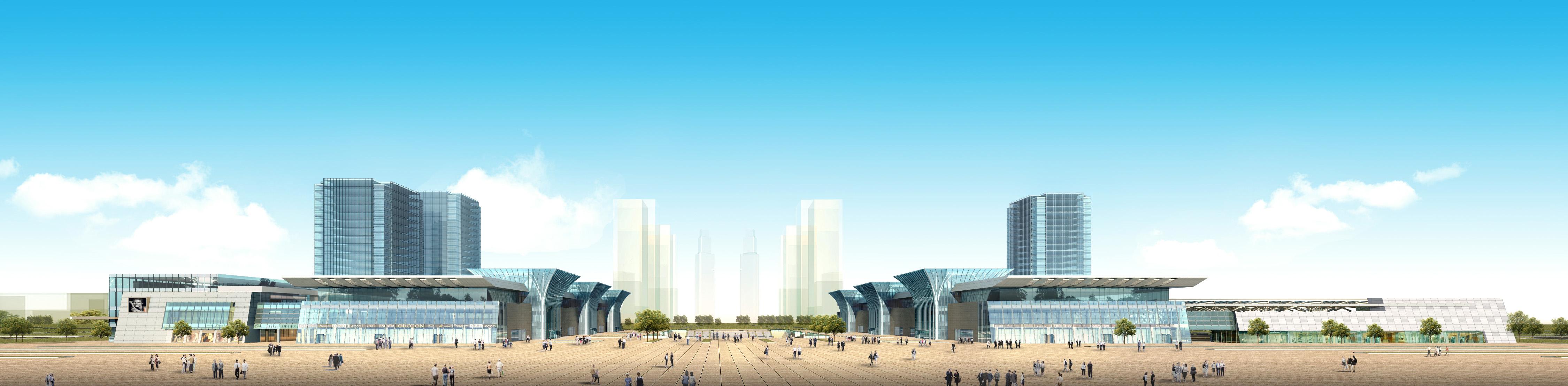 高铁西客站东广场,绿色医院设计研究所